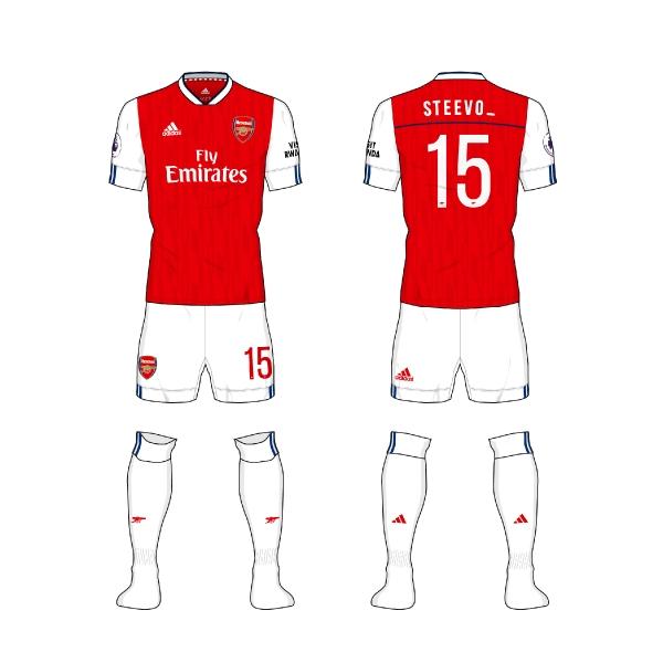 #AFC home kit - @steevo_15