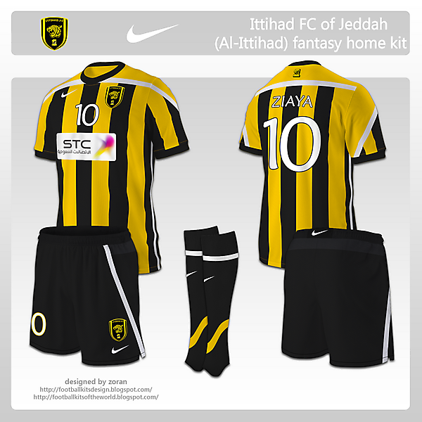 Ittihad FC of Jeddah fantasy home