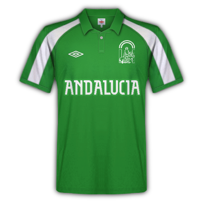 Andalusian national team fantasy kit away 90's
