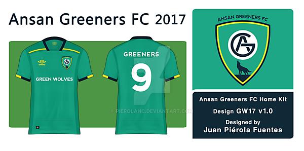 Ansan Greeners FC - Home