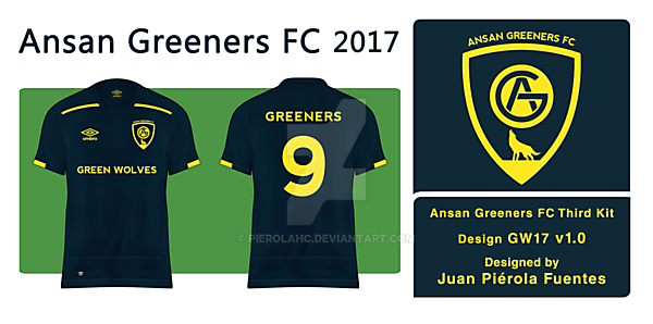 Ansan Greeners FC - Third