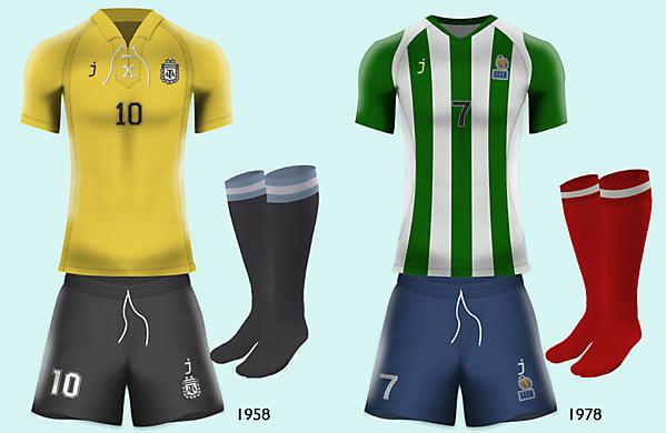 Argentina (1958) vs France (1978)