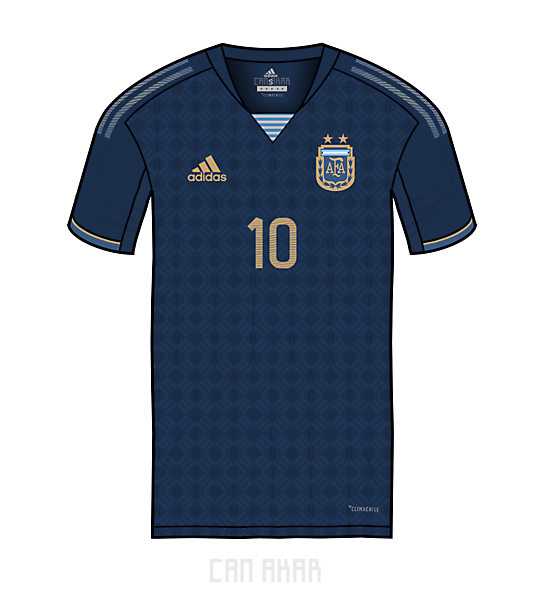 Argentina Away Kit x Adidas