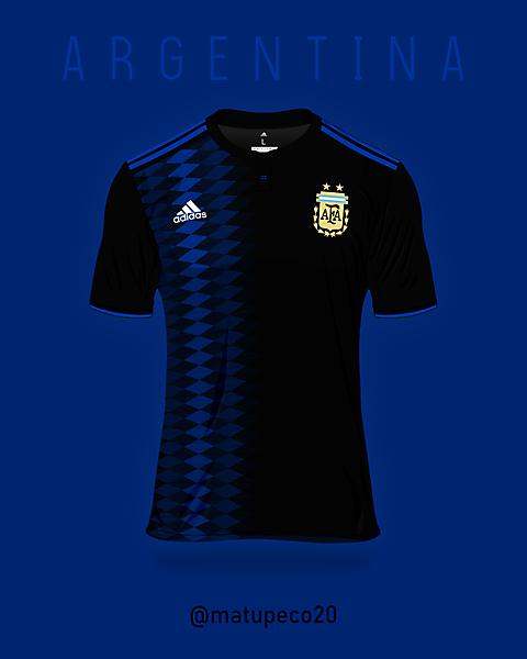 Argentina away shirt 2018