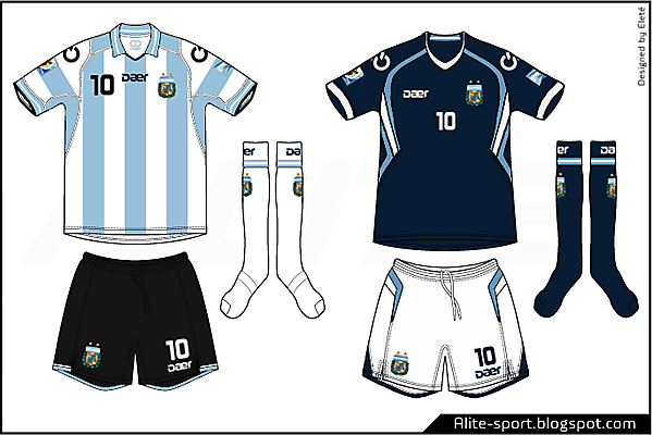 Argentina Daer Home & Away Kit
