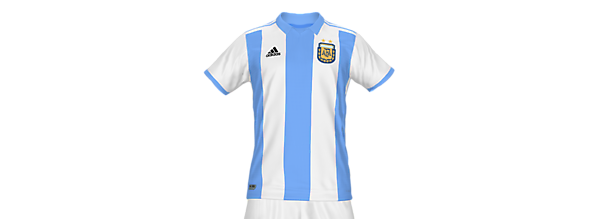 Argentina National Team Fantasy Home Kit (In Memory Of Diego Maradona)