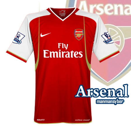 Arsenal Home Kit 09/10