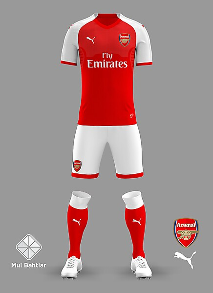 online retailer 866bb d26df Arsenal 2018/2019 Home Jersey