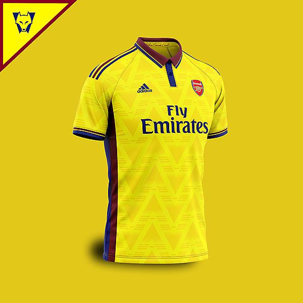 Arsenal Adidas away concept 2019/20