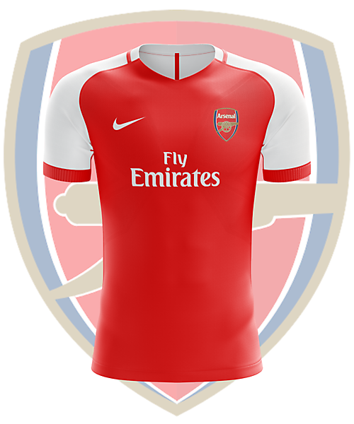 Arsenal x Nike - Home