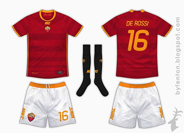 AS Roma Home Kit - Nike