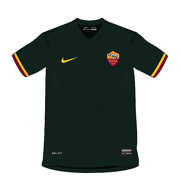 AS Roma Nike concept - 3rd shirt