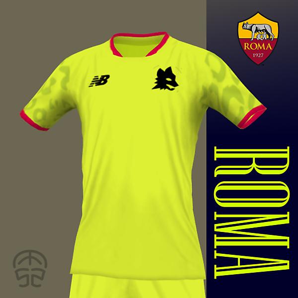 AS ROMA x NEW BALANCE (Third Kit)