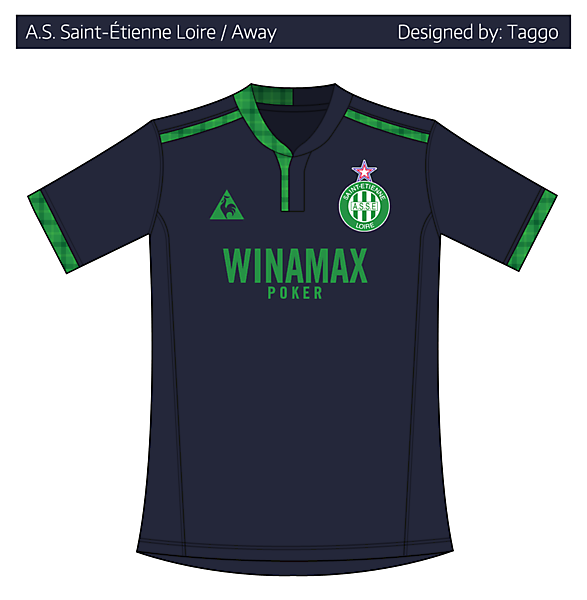 A.S. Saint Étienne Away 2