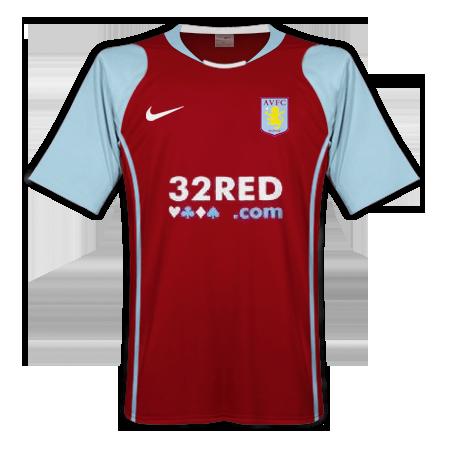 Aston Villa Home Kit 2