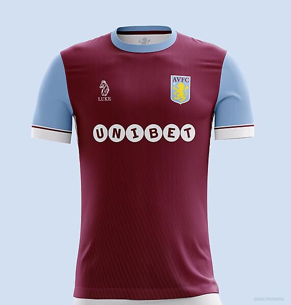 Aston Villa - Home 18/19