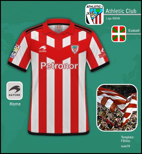 online retailer 7e754 6d635 Athletic Club de Bilbao (home)