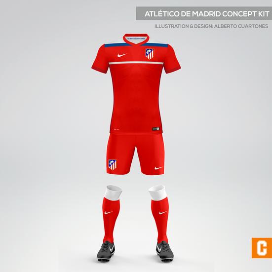 watch 0cb1d 71dc6 Atlético de Madrid Concept Kit