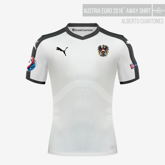 Austria UEFA EURO 2016™ Away Shirt