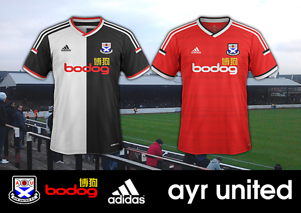 Ayr United - Home and Away