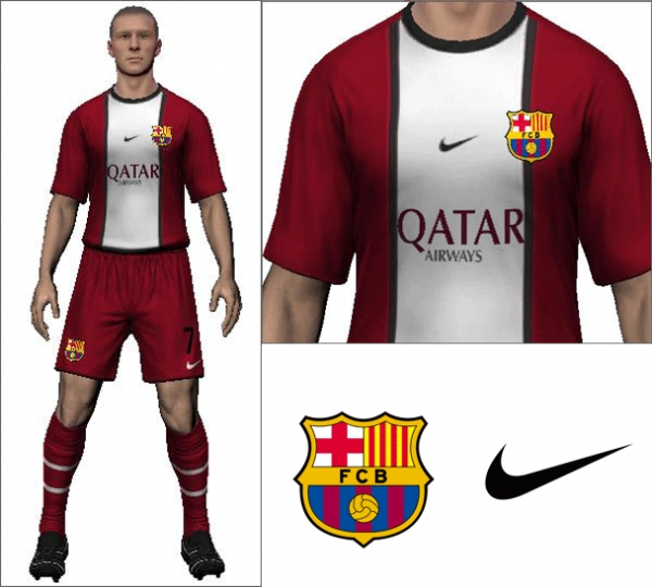 Barcelona 2014/15 Away Kit