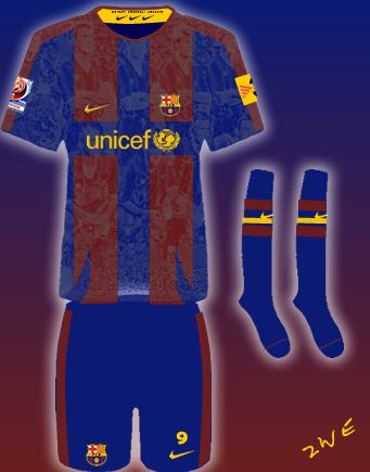 FC Barcelona Home Fantasy Kit