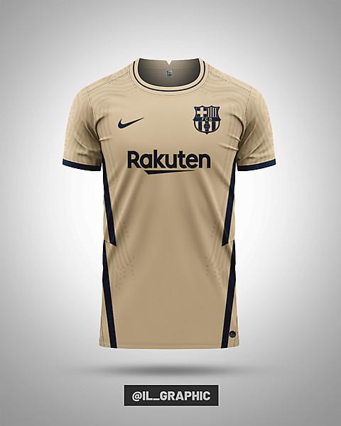 Barcelona Third Kit X Nike | 04/05 Concept