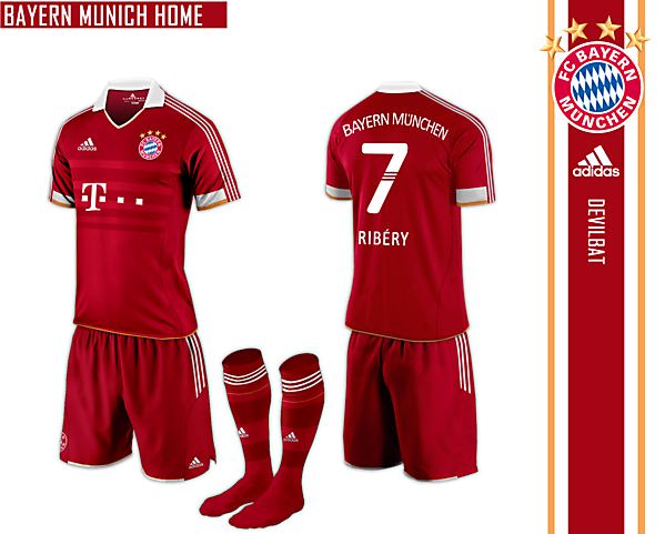 Bayern Munich Home Adidas