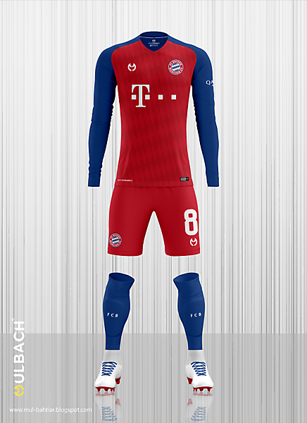 finest selection 9e151 1348e Bayern Munchen 2019-2020 Home Kit