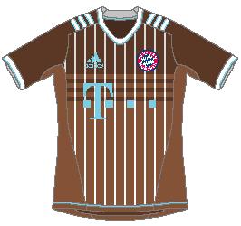 Bayern München Adidas Third Kit (Oktoberfest Special)