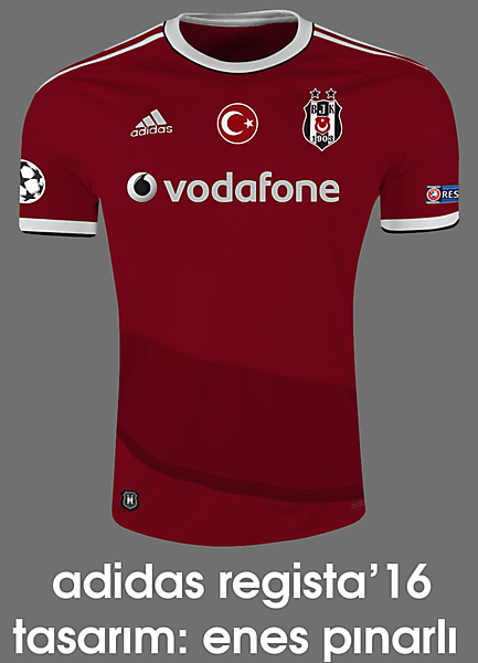 Beşiktaş 16/17 Third