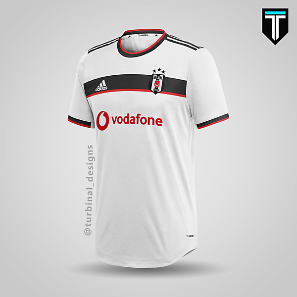 Beşiktaş JK x Adidas - Home Kit Concept