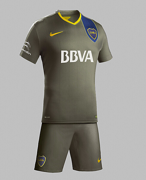 BOCA JUNIORS KIT 2015