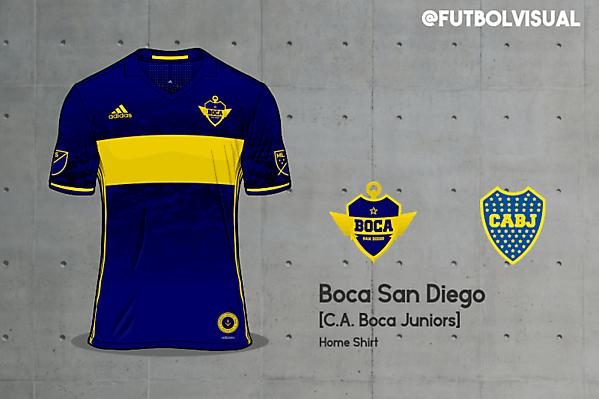 Boca San Diego - MLS Argentine Invasion