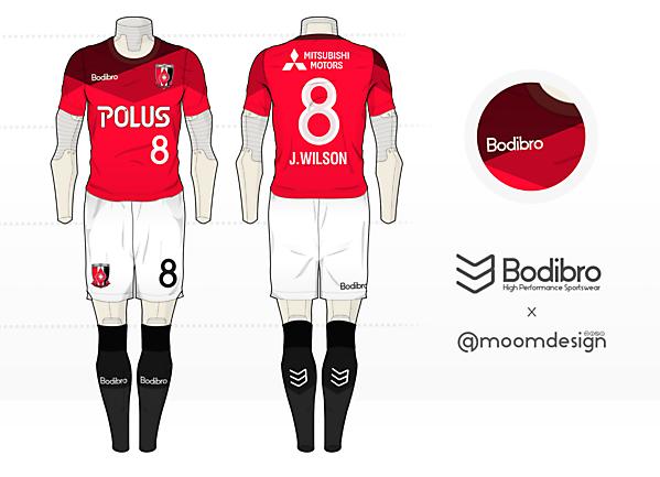 Bodibro Prism Teamwear ( Urawa Reds )