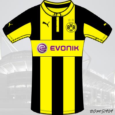 df3ebc447 Borussia Dortmund - PUMA ACTV Home Kit - #5
