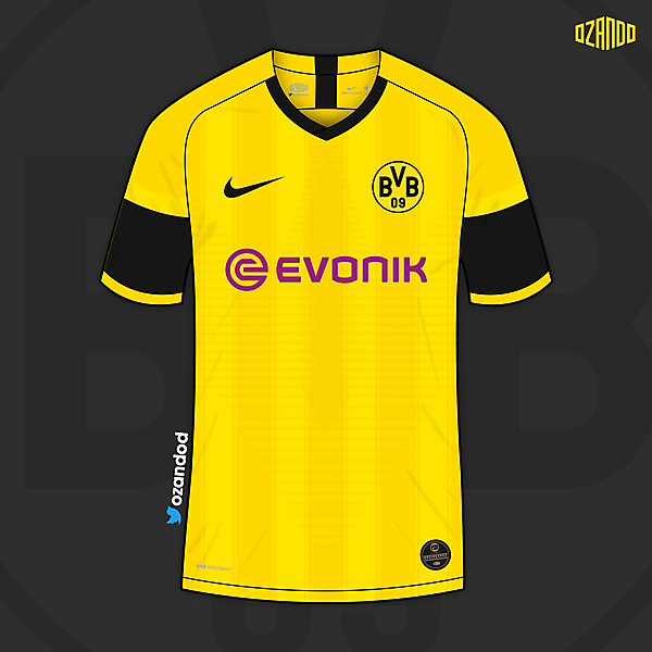 Borussia Dortmund x Nike | Home @ozandod