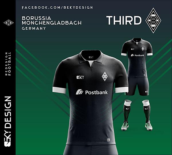 Borussia Mönchengladbach - Third V1 - by BEKY
