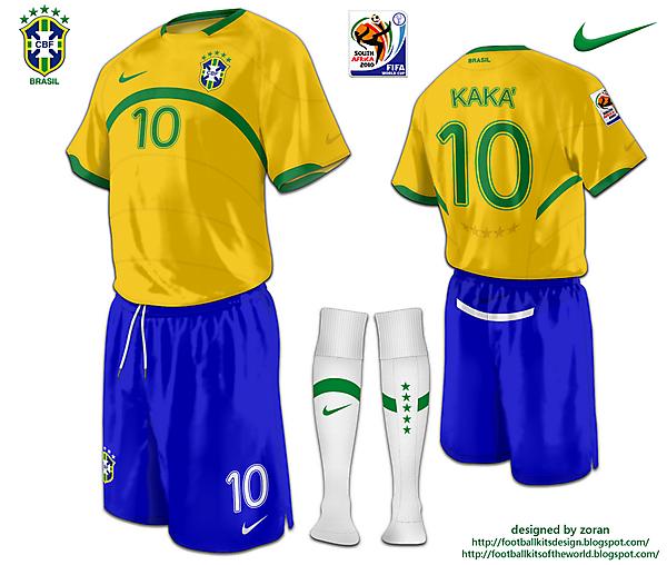 Brazil World Cup 2010 fantasy home