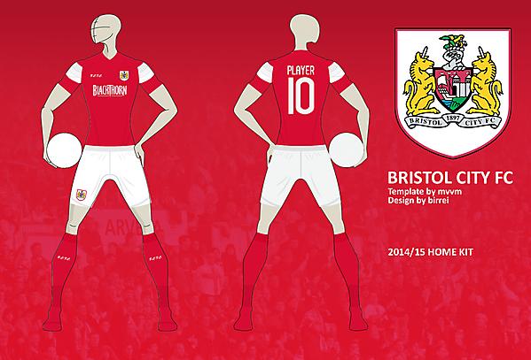 Bristol City FC Home Kit
