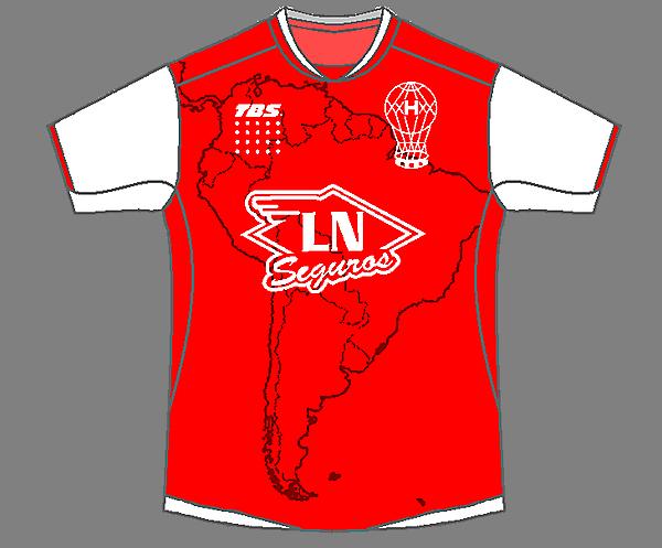 CA Huracan / Copa Libertadores Kit
