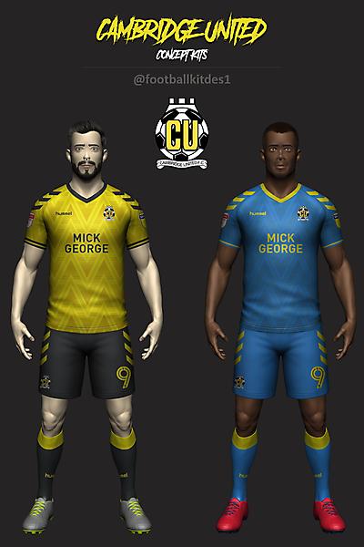 Cambridge United Concept