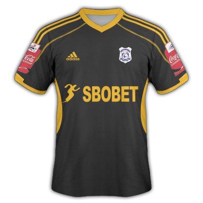 Cardiff City away kit