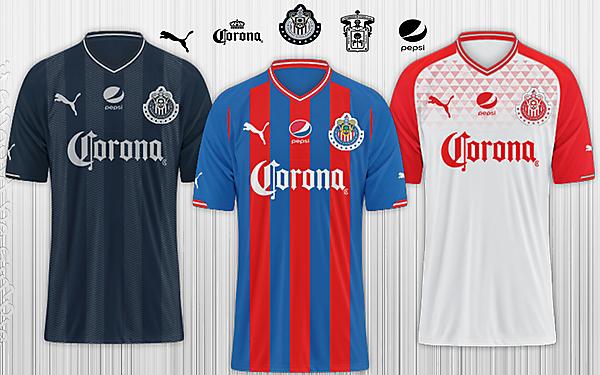 C.D Chivas de Guadalajara / Puma Kits