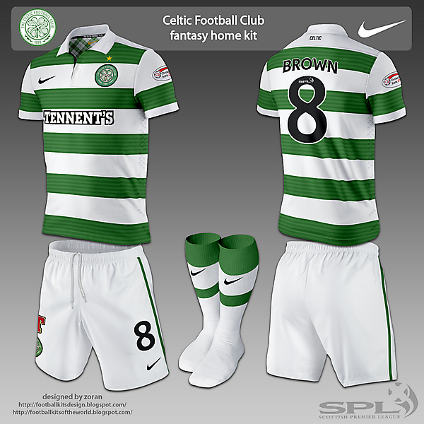 Celtic Football Club fantasy kits