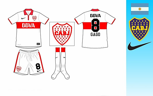 Boca Juniors Away Kit (River Plate Colors