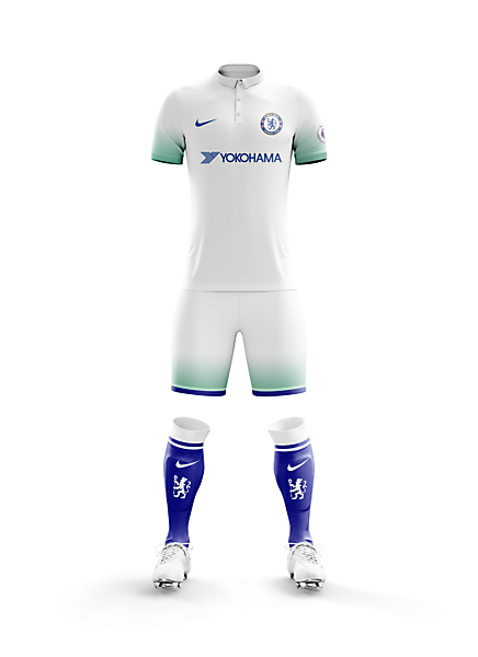 info for 74fc4 15cc4 Chelsea F.C. Away Apparel for 2017/18 Season