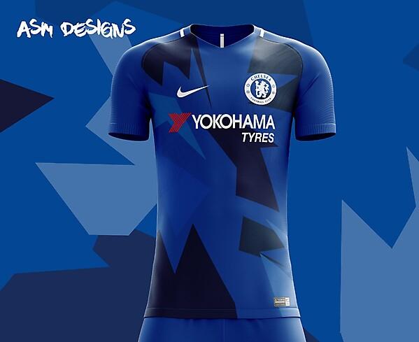 buy popular c9c69 f35d3 Chelsea F.C. Nike 2018 Home Kit