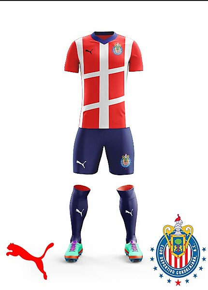 Chivas 2018 Puma Home kit
