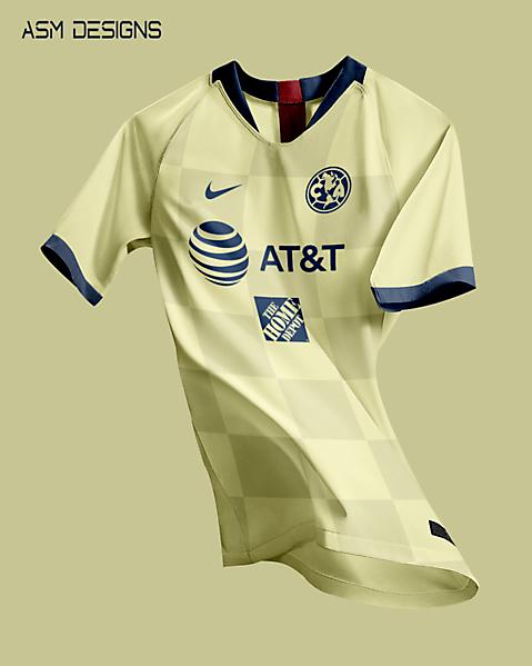 Club America 2021 Nike Home Kit